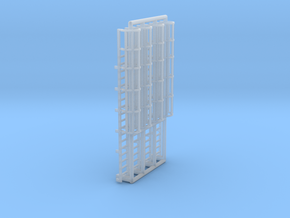 N Scale Cage Ladder 36mm (Top) in Frosted Ultra Detail