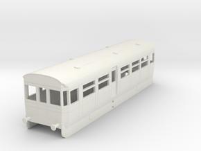 0-76-but-aec-railcar-trailer-coach in White Natural Versatile Plastic