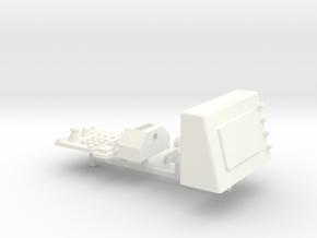 YETI SCORE INTERIOR (2 OF 2) in White Processed Versatile Plastic