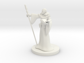 Elf Wizard 6 in White Natural Versatile Plastic
