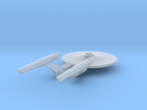 Federation Loknar-class Frigate Refit 1:3900 in Smooth Fine Detail Plastic