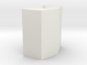 1/64 aux fuel tank in White Natural Versatile Plastic