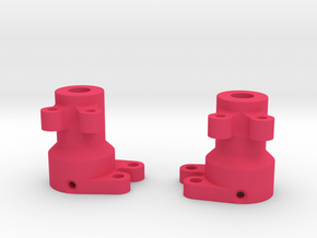 MRC Rear Lockout for Cut Down Wraith Axle in Pink Processed Versatile Plastic