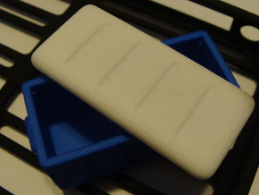 1/10 Cooler Lid in White Natural Versatile Plastic