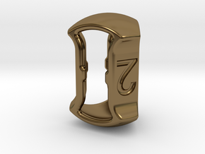 """D3, 5/8"""" (16mm), Open, Balanced in Polished Bronze"""