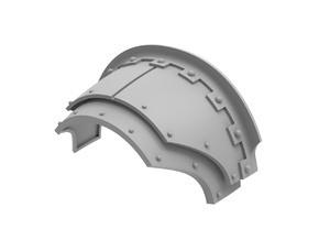 Mechanic - Shoulder Pad in Frosted Ultra Detail