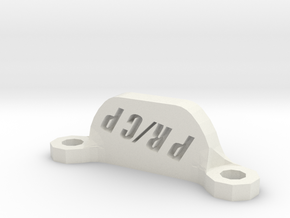 Rear Body Brace in White Natural Versatile Plastic