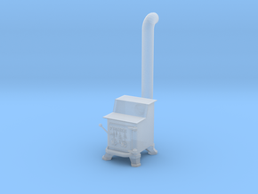 HO Scale Fisher stove in Smoothest Fine Detail Plastic