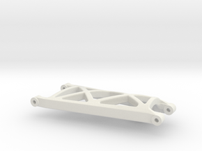 losi xxt rear left suspension arm in White Natural Versatile Plastic