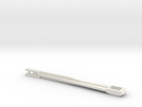Stang spoelmechanisme/bodemventiel in White Natural Versatile Plastic