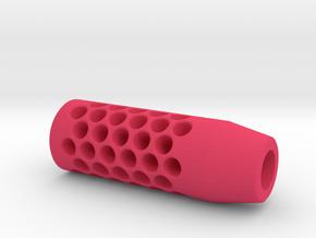 Enigma Compensator (14mm Self-Cutting Thread) in Pink Processed Versatile Plastic