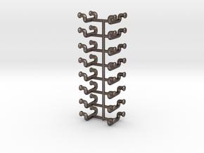 1/48 DKM UBoot Ladders Set x16 in Polished Bronzed Silver Steel
