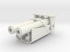 1/16 T26E1-1 Turret Stabilizer Springs in White Natural Versatile Plastic
