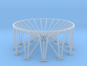 1/64 Stand 7,500-10,000 Tank in Smooth Fine Detail Plastic