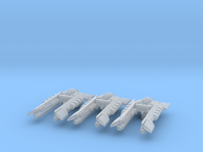 Alien Escorts (3) in Smooth Fine Detail Plastic