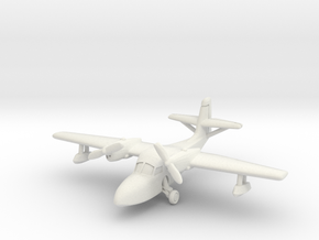 Grumman J4F Widgeon (with landing gear) 1/200 in White Natural Versatile Plastic