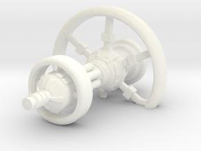 Human Dreadnought in White Processed Versatile Plastic