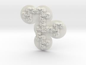 Conway's Creature in White Natural Versatile Plastic