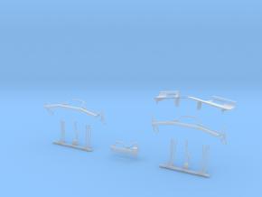 MTH ES44AC Detail Parts in Smooth Fine Detail Plastic