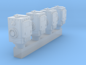 Robo - Orcy Heads in Smooth Fine Detail Plastic