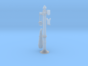 S scale Poage H Water Column in Smooth Fine Detail Plastic