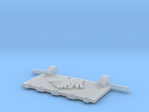 Space Crows God-Hammer Tank front hatch L in Smooth Fine Detail Plastic