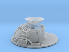 CM parachute compartment-cutaway version in Smooth Fine Detail Plastic