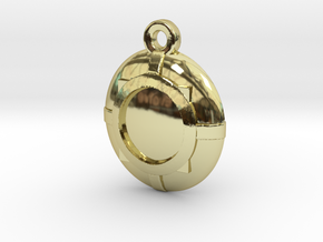 Wizard's Medallion in 18k Gold