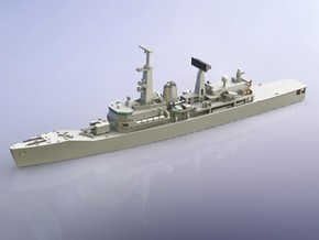 Chilean Frigate PFG-06 Almirante Condell 1/700  in Smooth Fine Detail Plastic