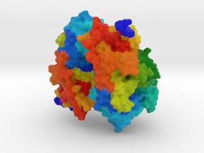 Bacterial Heparanase in Full Color Sandstone