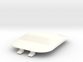 Lancia Delta Dom Abdeckung hinten Cover rear in White Processed Versatile Plastic