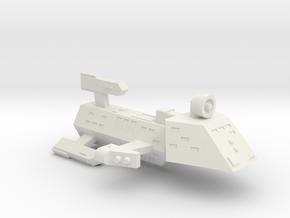 3125 Scale Kzinti Heavy Frigate (FH) SRZ in White Natural Versatile Plastic