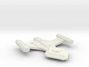 3125 Scale Vari Frigate (FF) MGL in White Natural Versatile Plastic