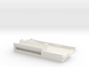 Ultra useful rolling tray  in White Natural Versatile Plastic