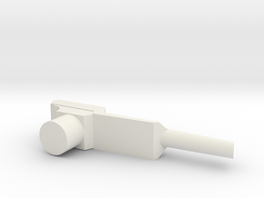 Nintendo Zapper in White Natural Versatile Plastic