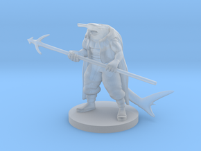 Hammerhead Pirate in Smooth Fine Detail Plastic