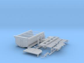 Zetros 6x6 mit Carnehl Mulde in Smooth Fine Detail Plastic