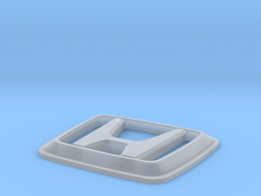 Indiglo - H Logo (GEN2) in Smooth Fine Detail Plastic