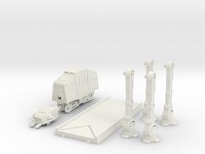 AT-AT Walker in White Natural Versatile Plastic