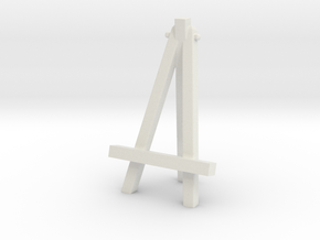 Easel №1 in White Natural Versatile Plastic