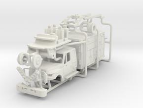 1/87 FDNY Terrastar Rescue Medic in White Natural Versatile Plastic