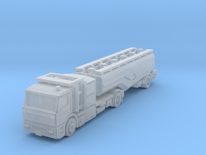 Fuel 3axle trailer v2 in Smoothest Fine Detail Plastic: 1:400