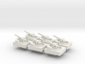 Coastal Battery x6 in White Strong & Flexible