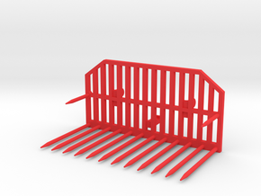 Silogabel Frontlader Wiking in Red Processed Versatile Plastic