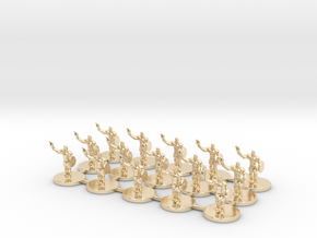Game of Thrones Risk Pieces - Braavos in 14k Gold Plated Brass