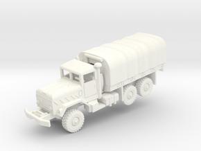 M923 5t with tarp in White Processed Versatile Plastic: 1:200