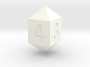 d4 in White Processed Versatile Plastic