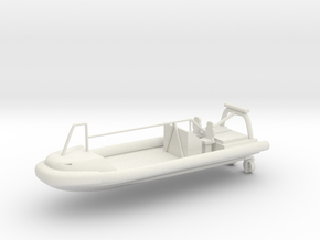 Fast Rescue Boat FRB 15C 1/72 in White Natural Versatile Plastic