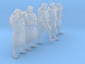 1/30 Royal Navy D-Coat+Lifevst Set203-2 in Smooth Fine Detail Plastic