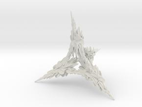 Laurel Tower in White Natural Versatile Plastic: Medium